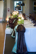 Attendants table decor