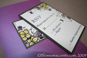 Butterfly Charm Wedding Invitation