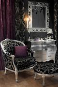 black and purple room