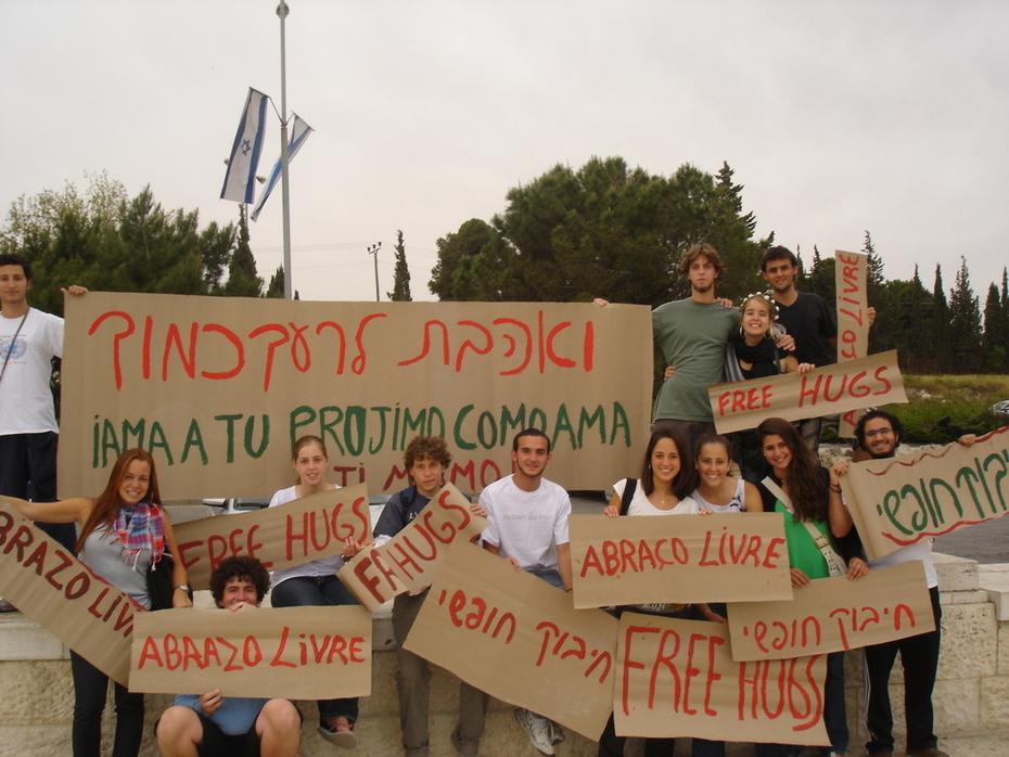 Free Hungs em Jerusalem