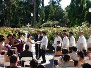 Sacramento Capitol Rose Garden Ceremony