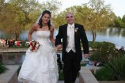 Bride and Groom with Lakeside View!