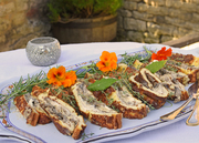 Mascarpone and Mushrooms Roulade