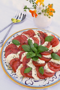 Tomato, Bufalo Mozzarella and basil Salad