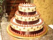 Kisses Wedding Cake or Grooms Cake