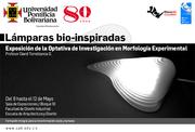 Bio-inspired lamps exhibition