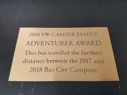 2017-2018 Adventure traveller
