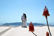 Santorini island weddings