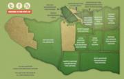 Map of Vancouver Neighbourhood Food Networks