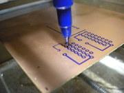CNC produzindo PCB
