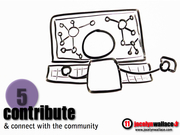 5) Contribute and Connect in Community