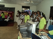 The activities of the students in Rambuka