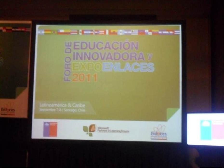 Foro de Educacion Innovadora y ExpoEnlaces en Chile 2011