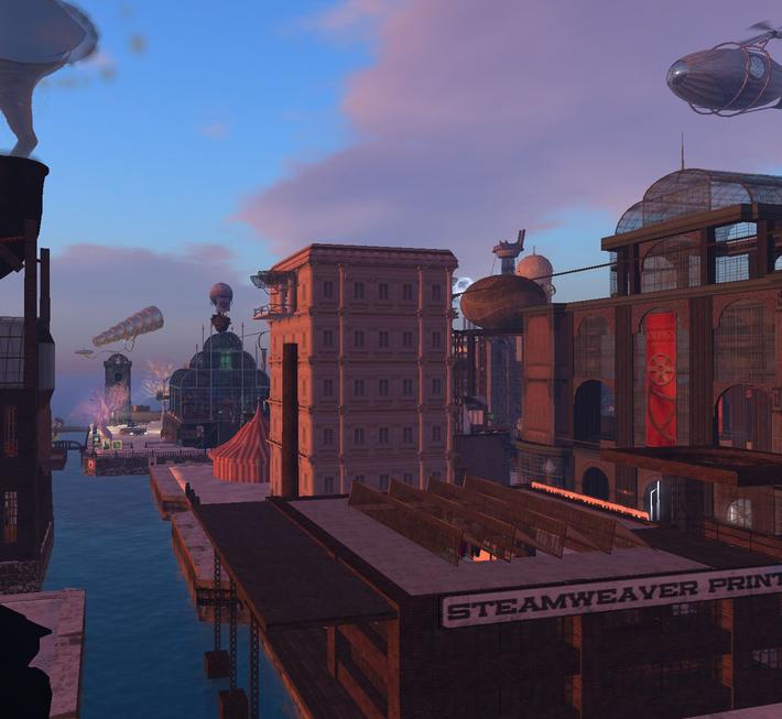 Babbage_Sunrise_Second Life