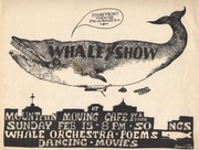 Whale Show Poster, 1976
