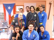 Yellow and brown belts class.