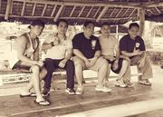 Baraw Sugbo training with GM Ed Ceniza in Taal Batangas with Bobby  Dela Rosa, Tom and John Pena