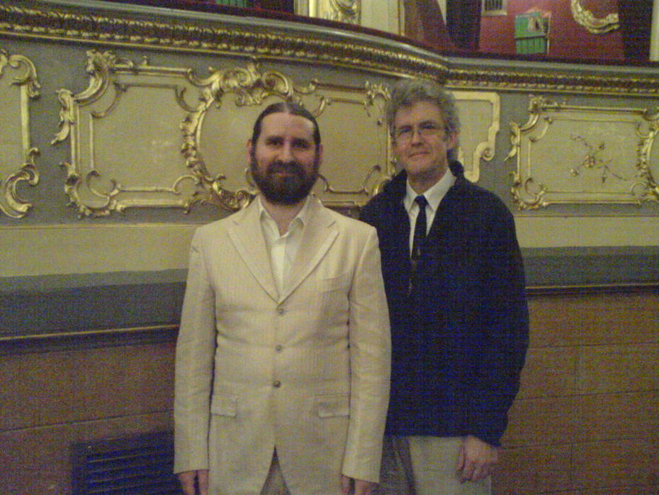 Filip and Stuart Hinds