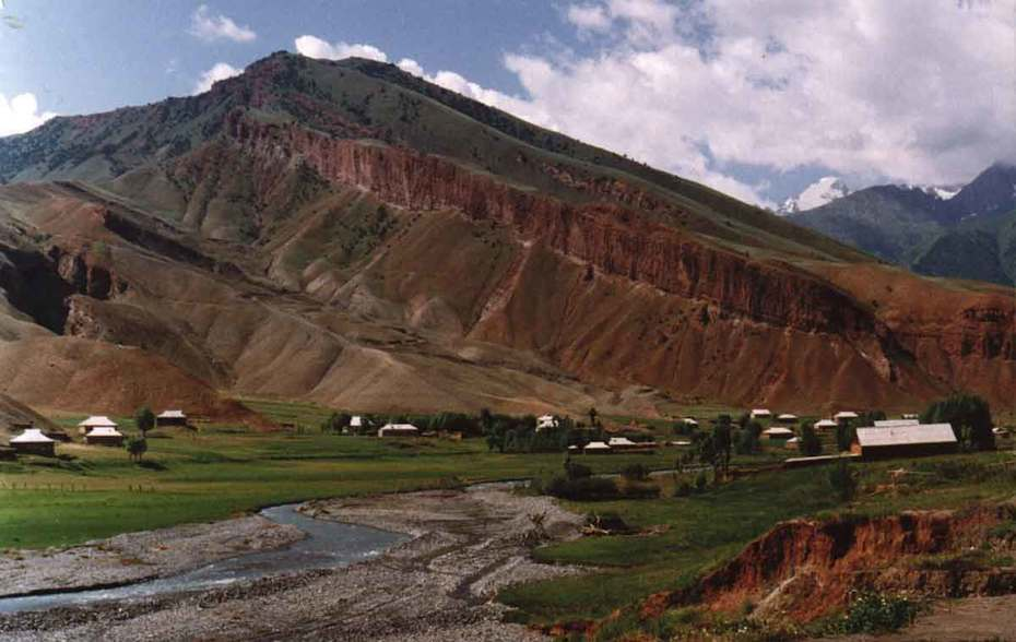 Pamir Mountain Range