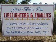 Charleston 9 Memorial site
