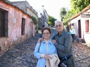 My parents Consuelo and Ismael in Colonia del Sacramento, Uruguay in 2006