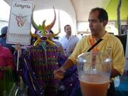 Saborea vendor in carnaval costume 4-09