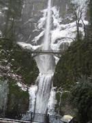 Falls near Mt. Hood
