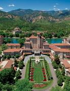 The Broadmoor - Aerial