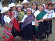 Girls Dance Troupe, Chugchilán, Ecuador
