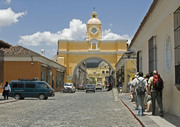 the famous ARCH in ANTIGUA