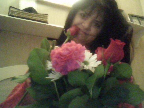 My Valentines Day flowers.... = )