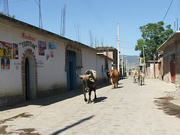 The streets of Teotitlán del Valle