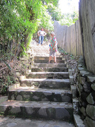 uphill to Santa Cruz