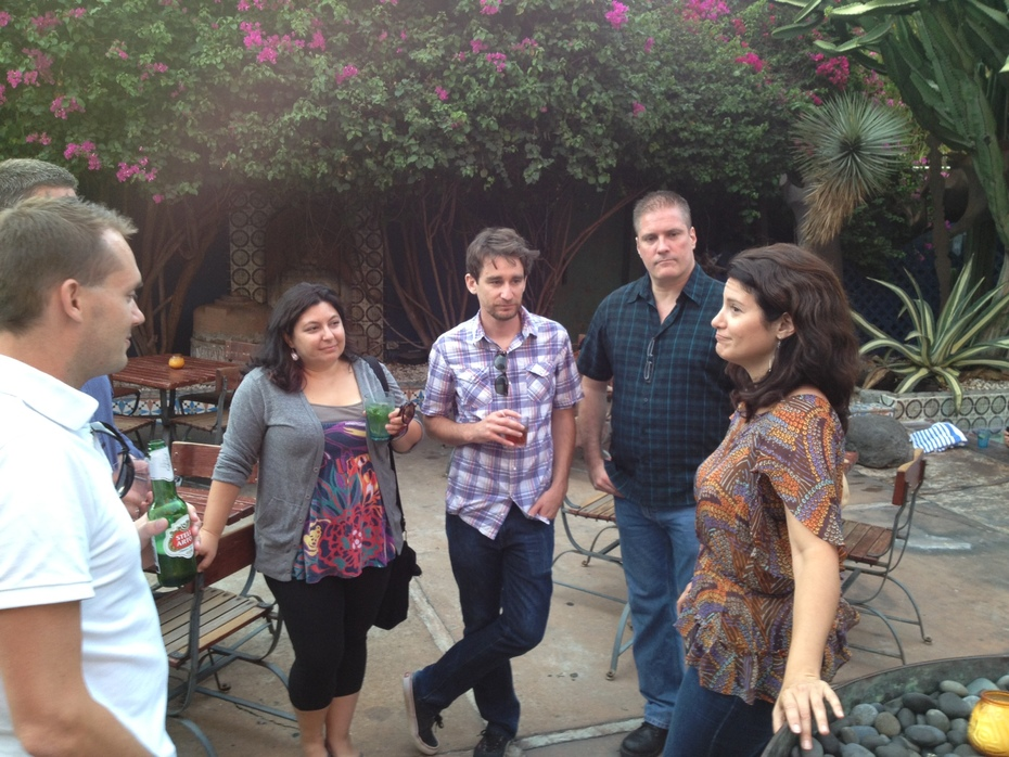 TBS blogger meetup at Hotel Figueroa, Los Angeles 9-12