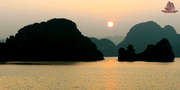 Amazing scenery in Halong Bay!