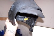 Flashover Training FSCTE Manston Wed 25th June 2008 (24) Melted Helmet