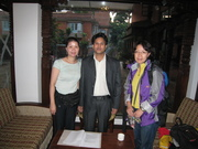 Meeting wBabu in Hotel Manaslu