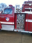 our  new fire engine !!