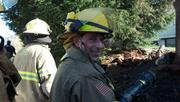 Brush Shed Fire
