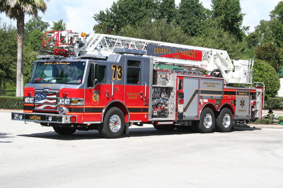 Ladder Co. 73, Osceola County Florida