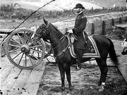 Gen William T Sherman near Atlanta, Georgia