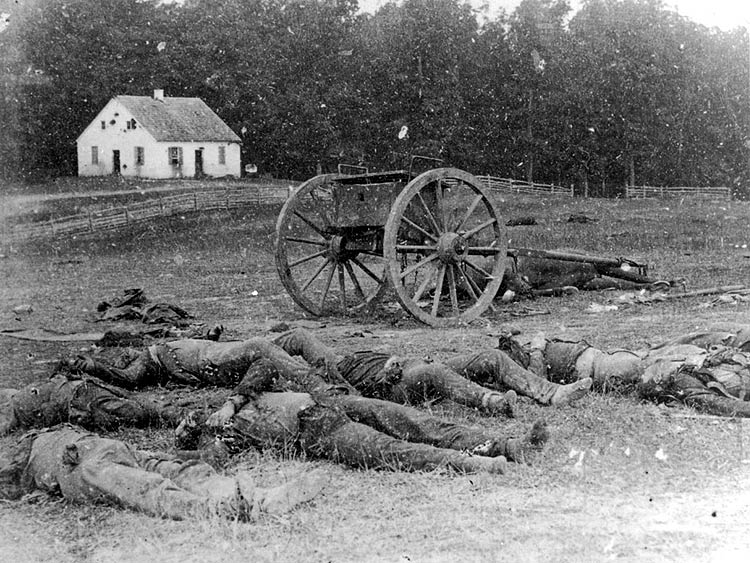 Confederate Dead at Antietam Md