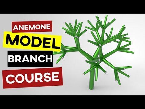 Aneomone Grasshopper Branching