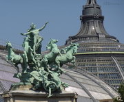 Galloping Horses sculpture at Grand Palais