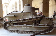Tank at Les Invalides