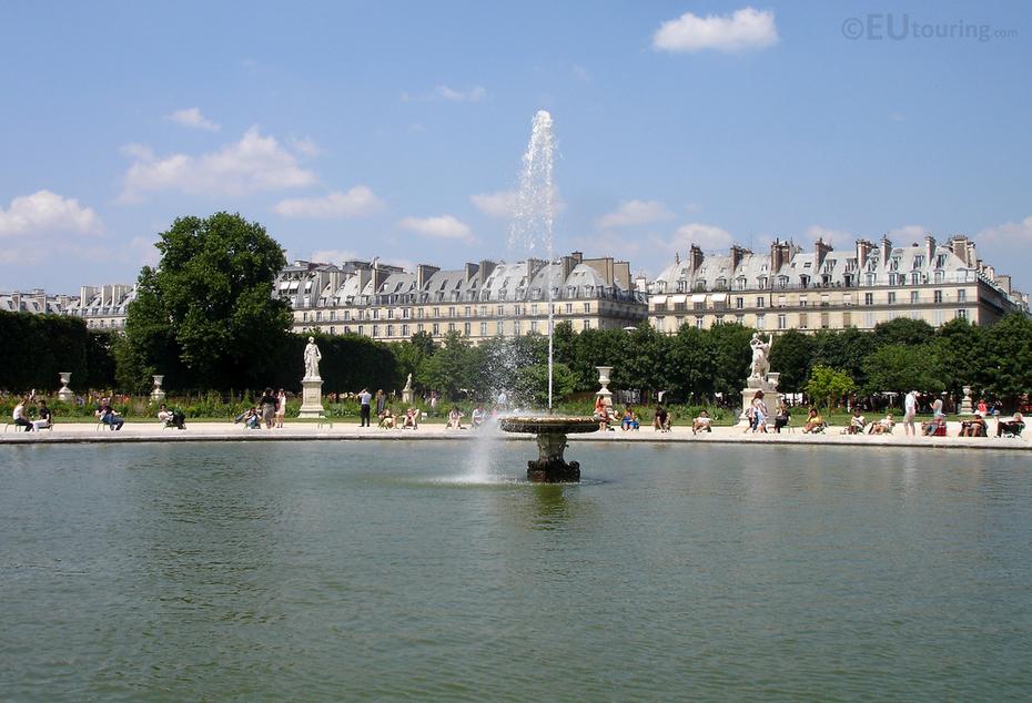 Fountain in the Tuilleries Garden