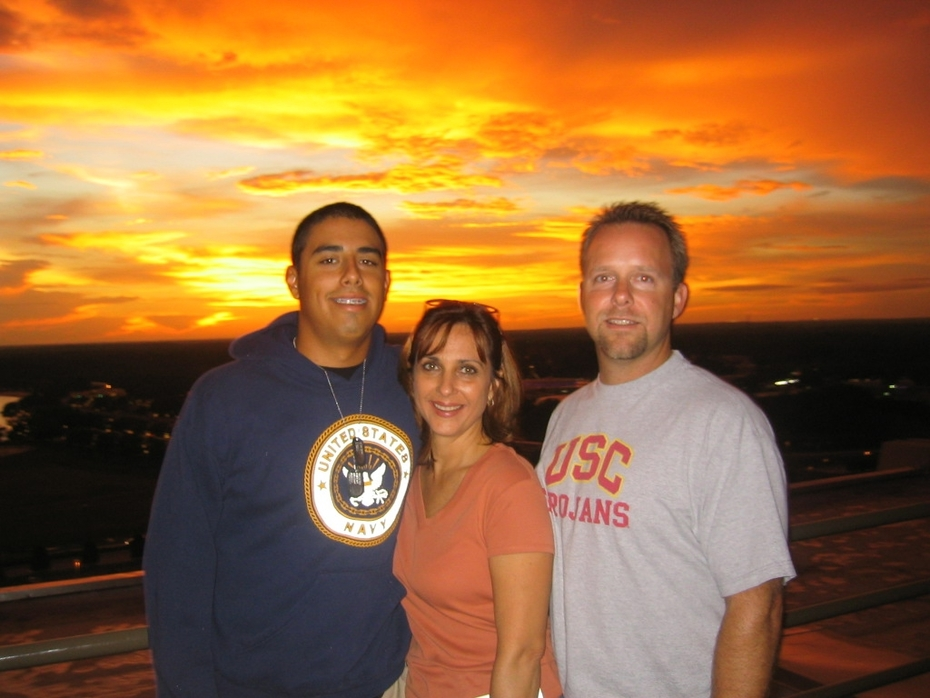 Joey, Mom and Troy
