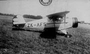 ZK-AFS-1 Porterfield official NZ Civil Aviation photo