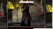 Cauldron og gray witch