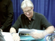Bruce Boxleitner Signs Poster